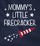 Mommy's Little Firecracker Cute 4th of July