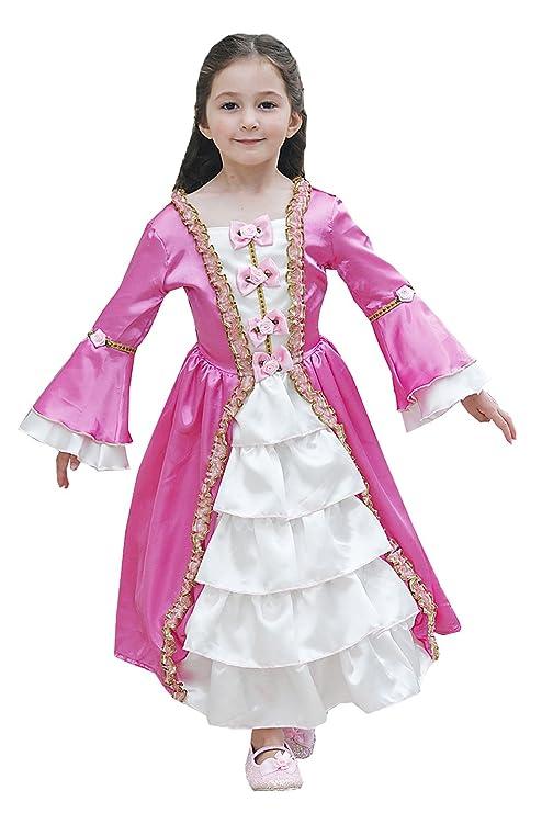 Maria Antonietta Costume Storico per Bambina 98dd7c7048f