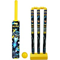 PA Toys Batman Senior Cricket Set, Multi Color for Kids (Color May Very)