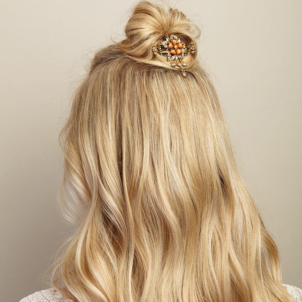 Haarschmuck Blumen Haarschmuck Blumen Haarspange Rosegold