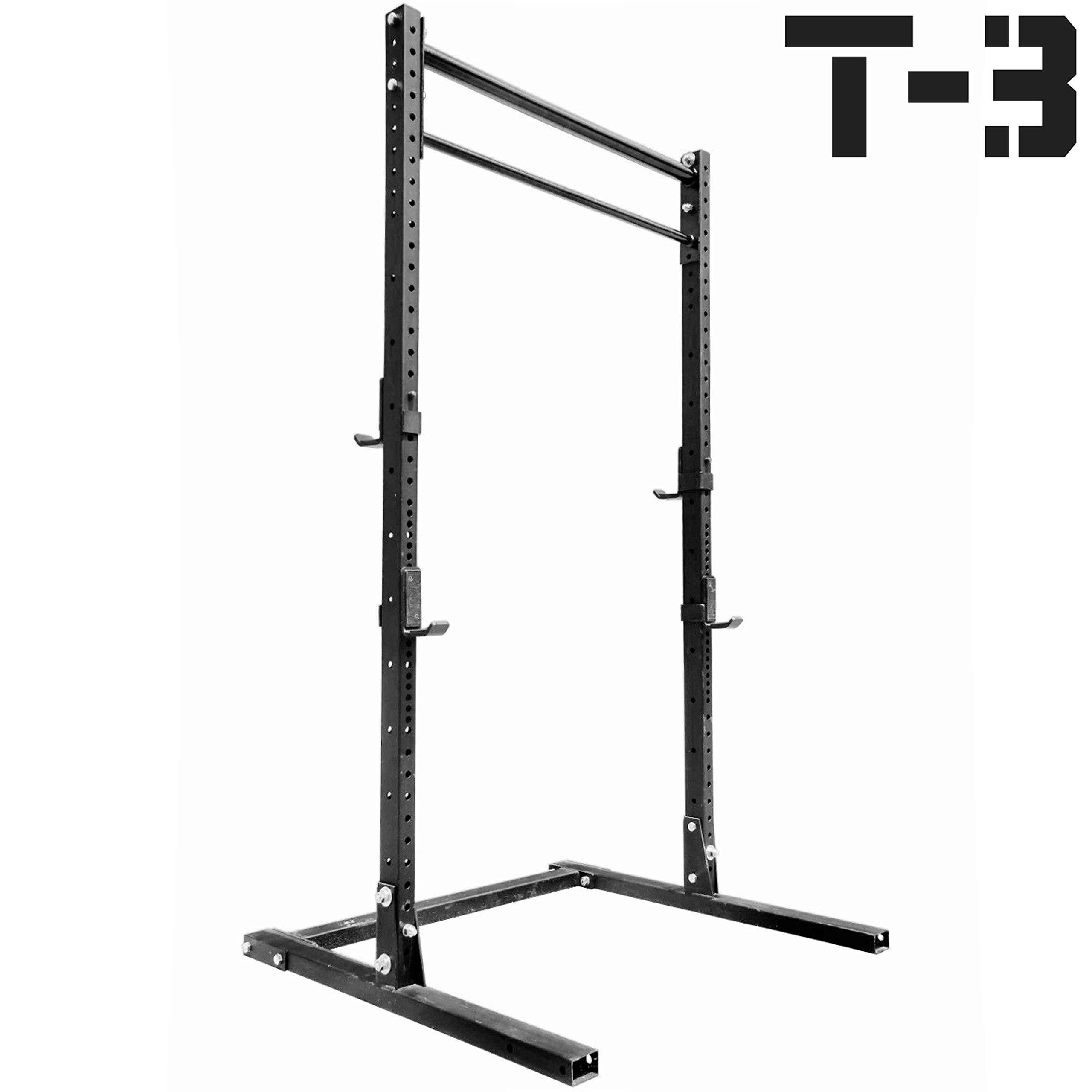 Titan T-3 Squat Rack HD Deadlift Lift Weight Training 2''x3'' 1,000 lb Capacity by Titan Fitness