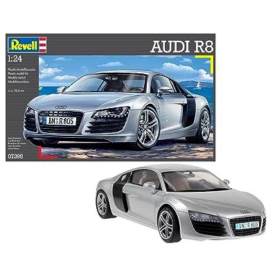 Revell Germany 07398 Audi R8 Sports Car Model Kit: Toys & Games [5Bkhe0302946]