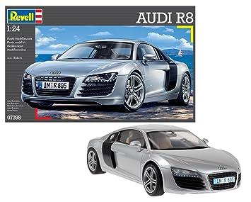 Revell- Maqueta Audi R8, Escala 1:24 (07398)
