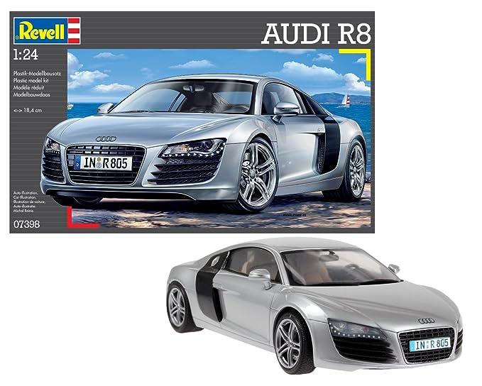 Amazoncom Revell Germany Audi R8 Sports Car Model Kit Toys Games