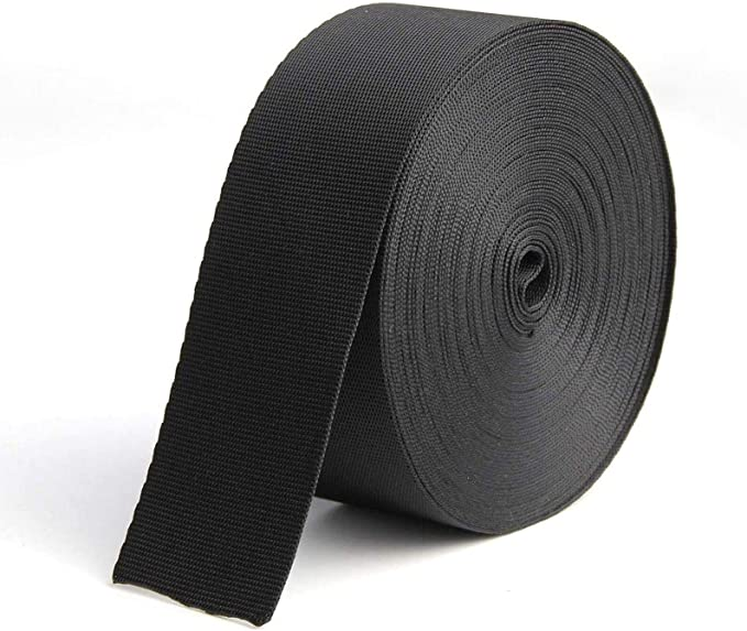 """10 yards Polypropylene Webbing 1/"""" 11 COLORS Lightweight Poly Strap Strapping"""