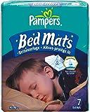 Pampers Bed Mats Large, Matratzenschutz für Babies & Kinder, 6er Pack (6 x 7 Stück)