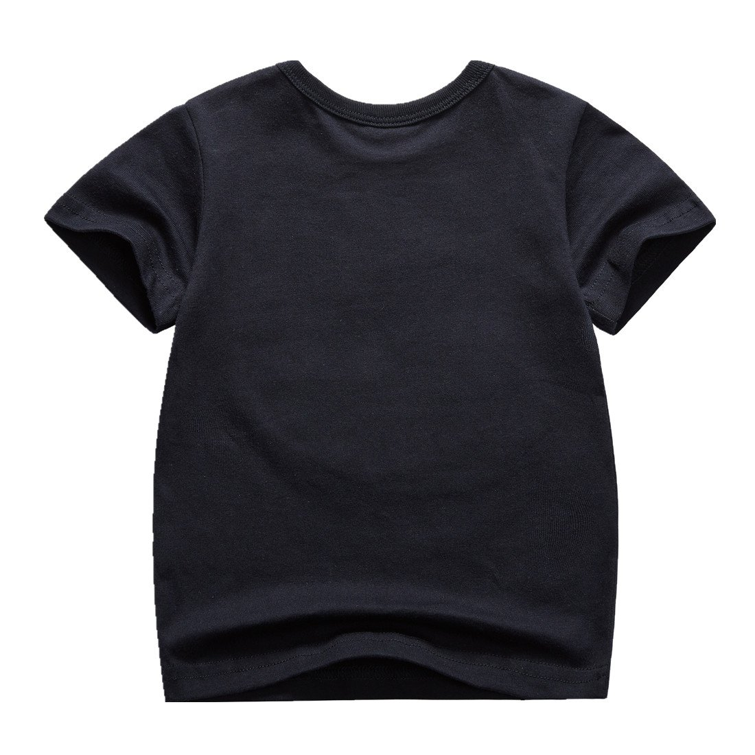 Sooxiwood Little Boys T-Shirt Animal Summer Size 2T Navy-Black by Sooxiwood (Image #2)