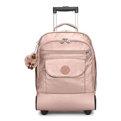2540c8283 Amazon.com: Kipling Sanaa Large Metallic Rolling Backpack Rose Gold Metallic:  Shoes