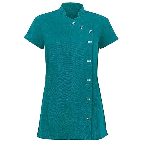 Alexandra - Túnica uniforme para salón de belleza / spa de cuidado fácil para mujer