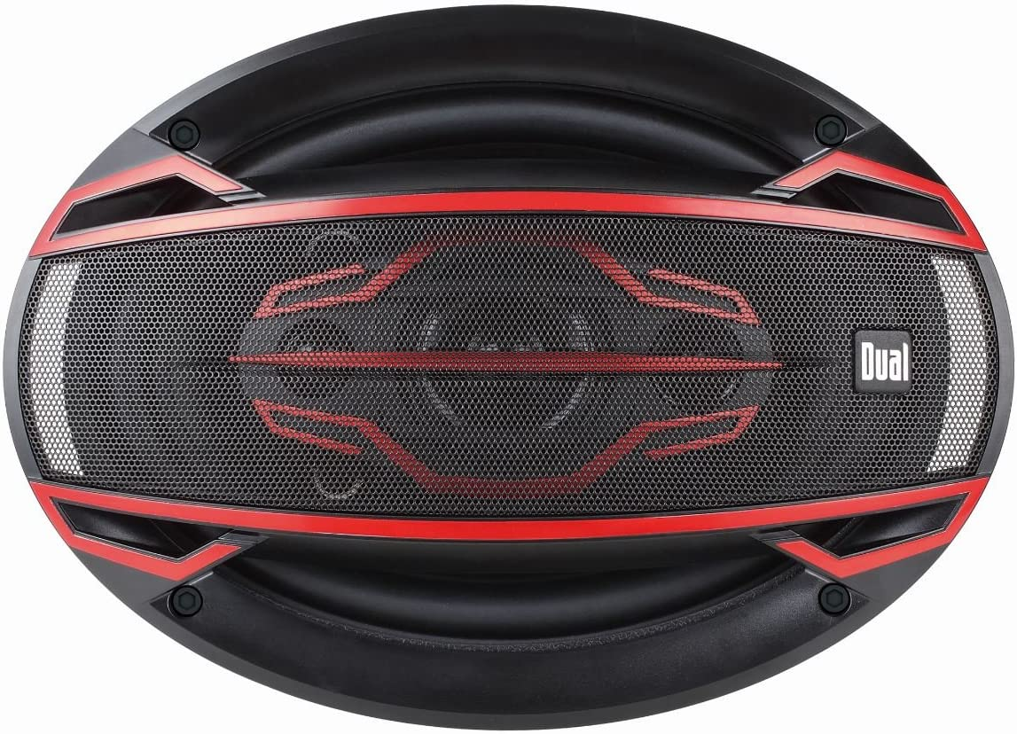 """Dual Electronics DLS694 6/"""" Car Speakers 200-Watts Four Speakers"""
