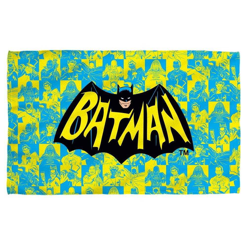Batman TV Show Logo Classic TV Show - Beach Towel (36'' x 58'')