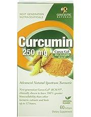 Genceutic Naturals Curcumin Bcm 95, 60Vcaps, 250 Mg