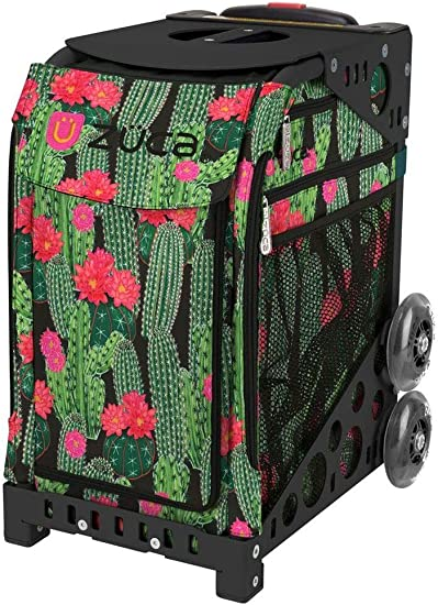 Desert Blossom with Gift Lunchbox and Zuca Seat Cover Zuca Sport Bag Black Frame