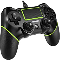 PomisGam Wired PS4 Controller for Playstation 4/pro/Slim/PC Windoews(7.8.10)/Steam,Professional USB PS4 Wired Gamepad(6…