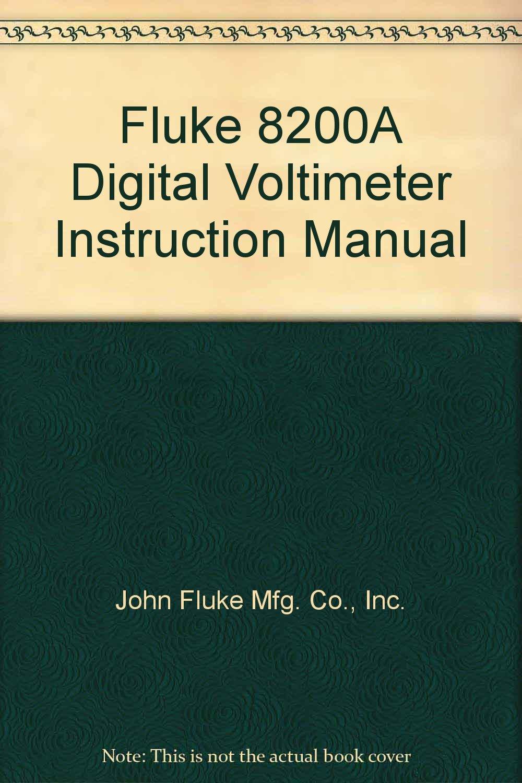 fluke owners manuals