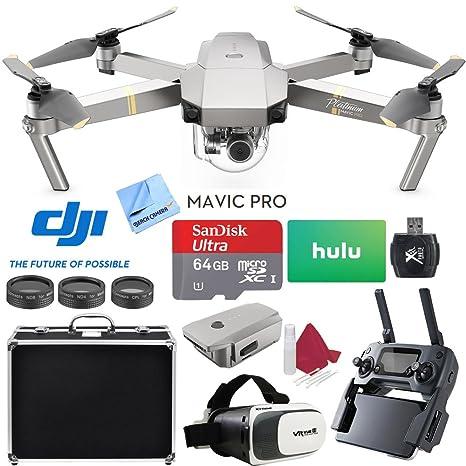 Beach Camera dji Mavic Pro Platinum Quadcopter Drone con Tarjeta ...