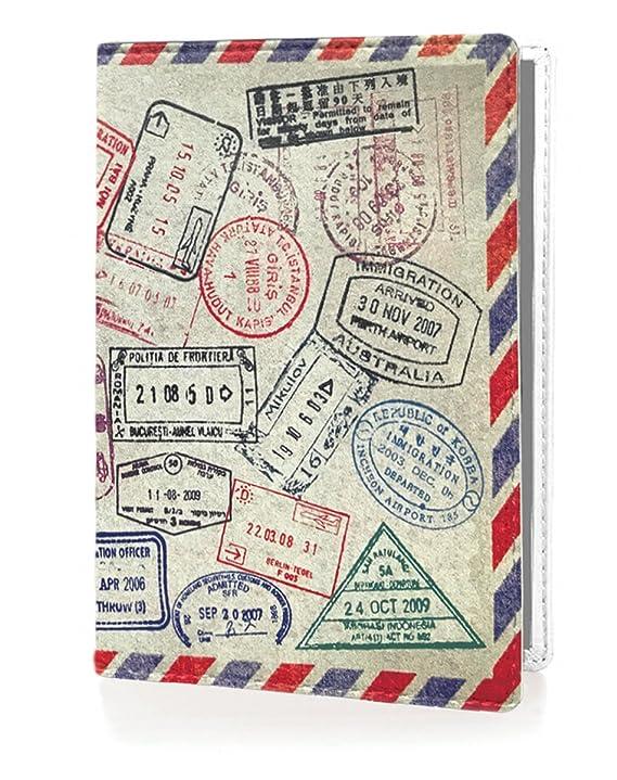 OPTEXX RFID Reisepass-Hülle TÜV geprüft & zerifiziert Grenzland Ausweis-hülle Schutzhülle Schutz-Etui Pass-hülle aus Vegi led