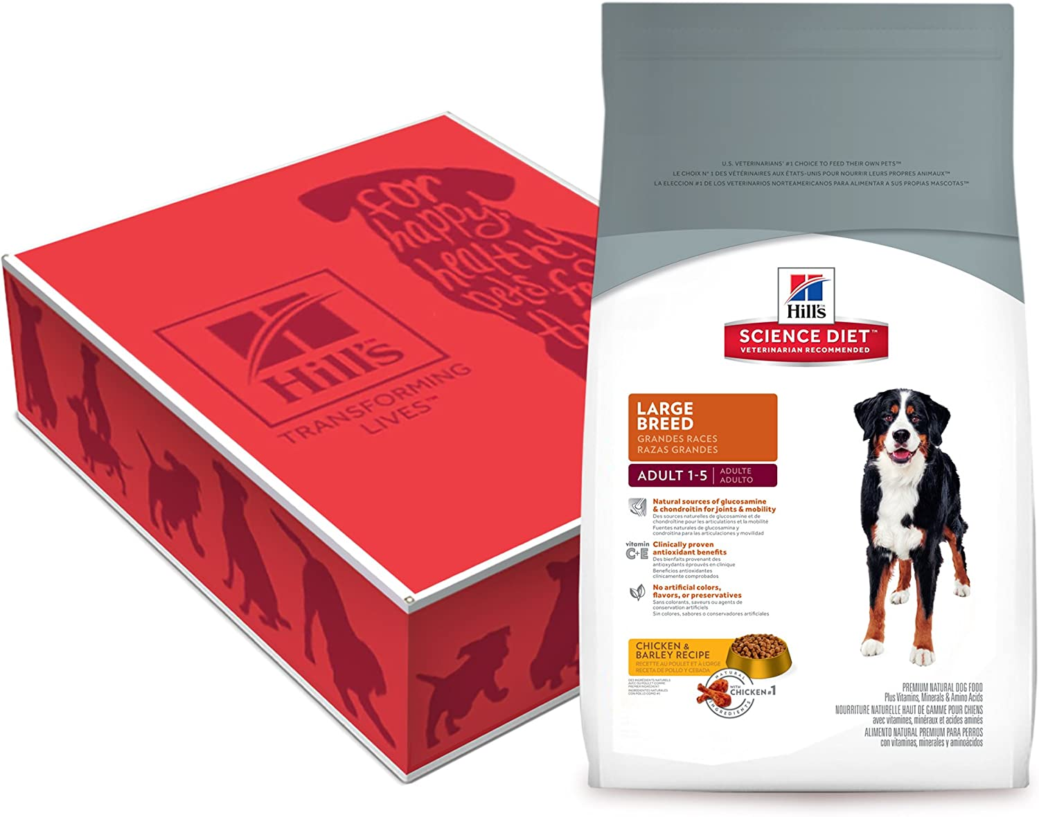4. Hill's Science Diet Large Breed Dry Dog Food