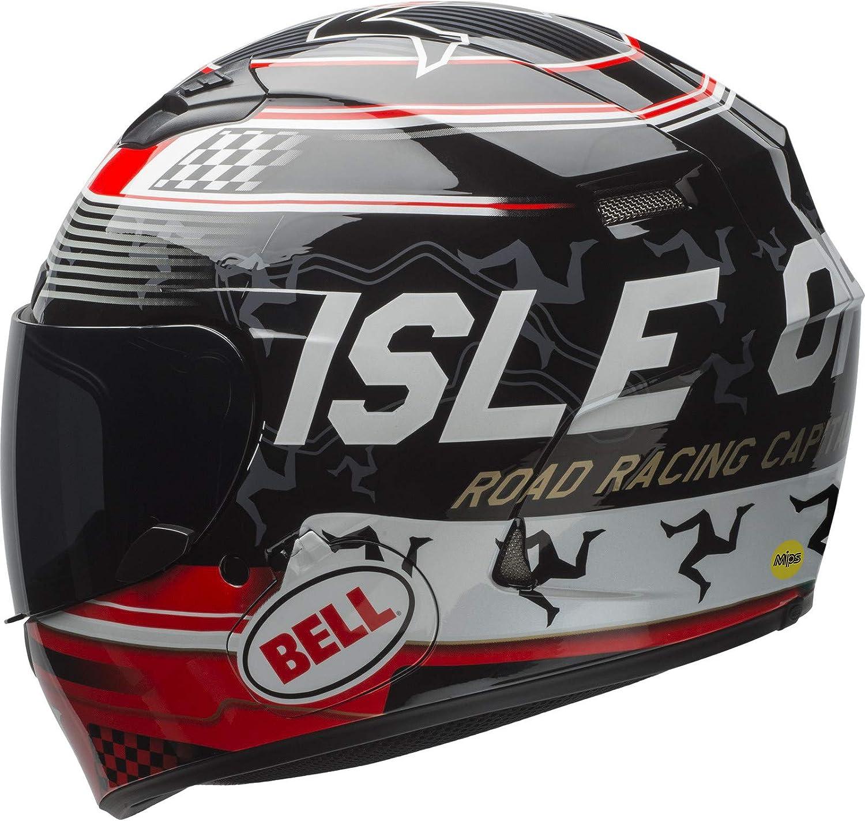 Bell Herren Qualifier Helme Dlx Mips Isle Of Man Black Red L Auto