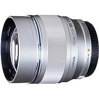 Olympus M.ZUIKO DIGITAL ED 75mm f1.8 (Silver) Lens for Olympus and Panasonic Micro 4/3 Cameras