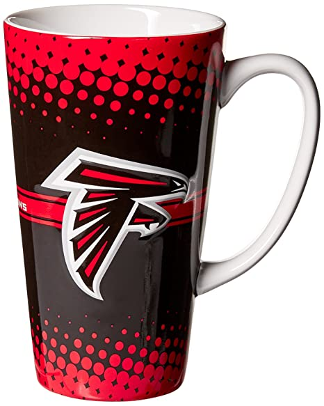 d8956f95b6c Amazon.com   Boelter Brands NFL Atlanta Falcons Sculpted Latte Mug ...