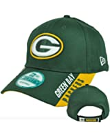 NFL Green Bay Packers Text Visor, Green, OSFA
