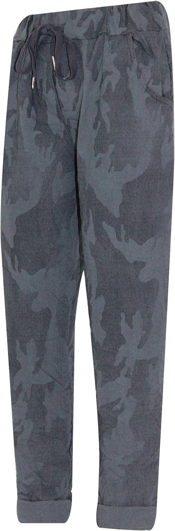 Magic Pants Magic Trousers Cropped Pants Fit 12-16 /& 18-24 Capris Animal Print