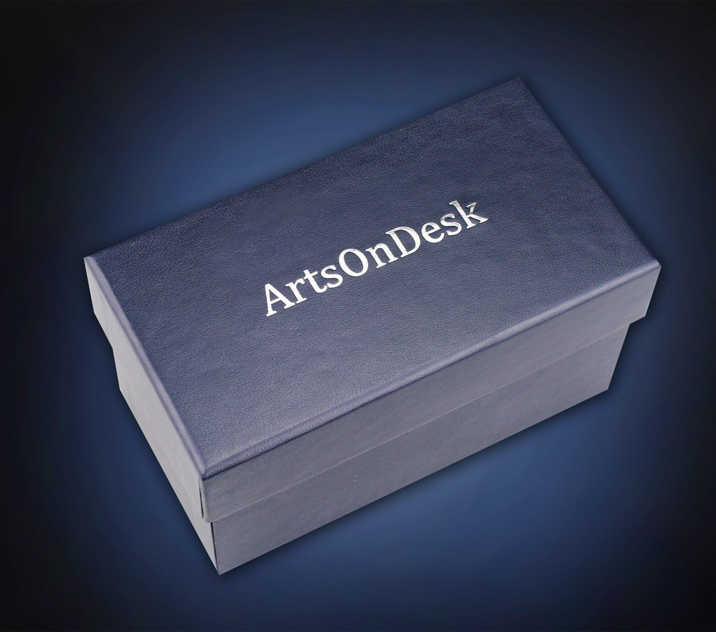 Amazon.com : ArtsOnDesk Modern Art Business Card Holder St201 ...