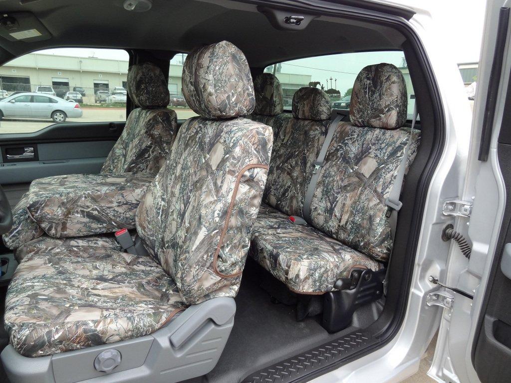 Amazon com exact seat covers fd75 f488 f490 mc2 c custom exact fit seat covers designed for 2011 2013 ford f150 xl and stx model front 40 20 40 split