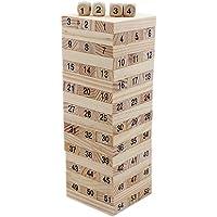 Tootpado Wooden Tumbling Tower Tall Building Dominoes Blocks (1TNG296)