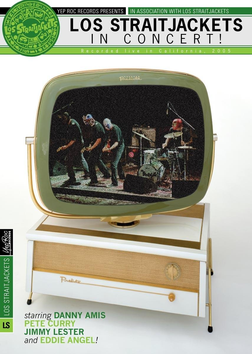 DVD : Los StraitJackets - Los Straitjackets In Concert (DVD)