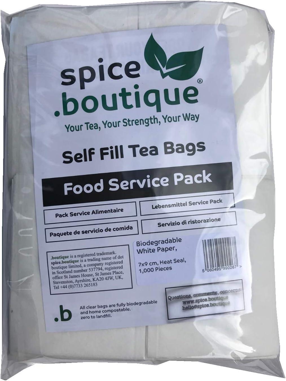 Spice.boutique - Juego de bolsas de té biodegradables (papel ...