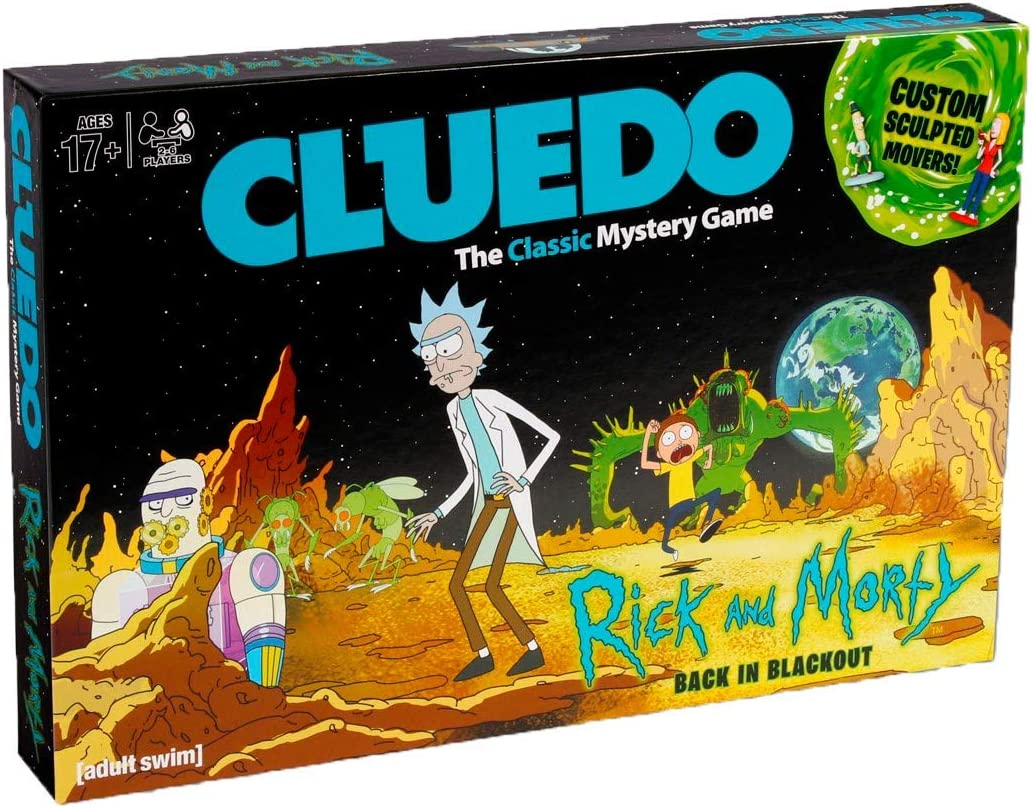Eleven Force - Cluedo, Rick Y Morty
