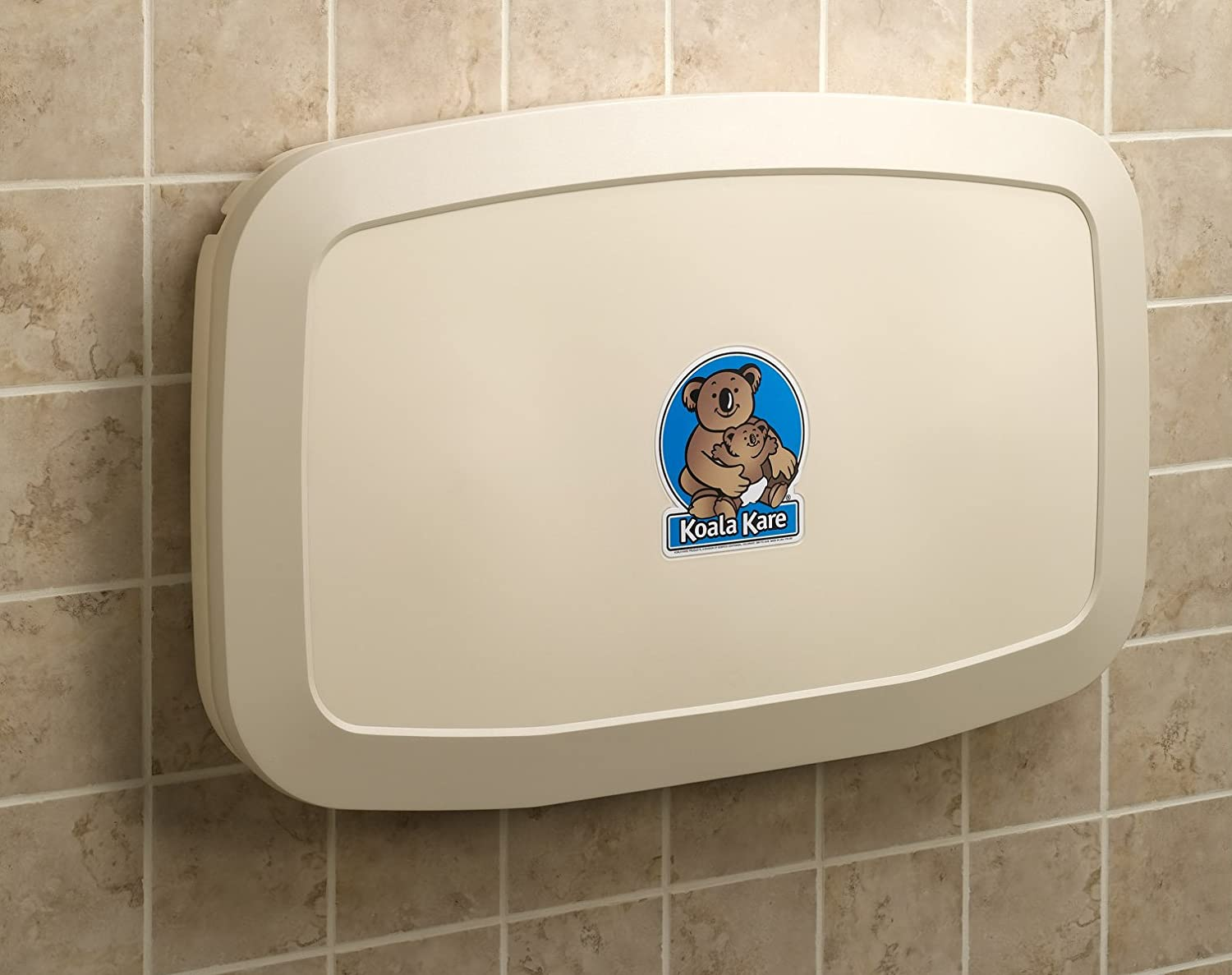 Koala Kare KB Horizontal Wall Mounted Baby Changing Station - Koala care changing table