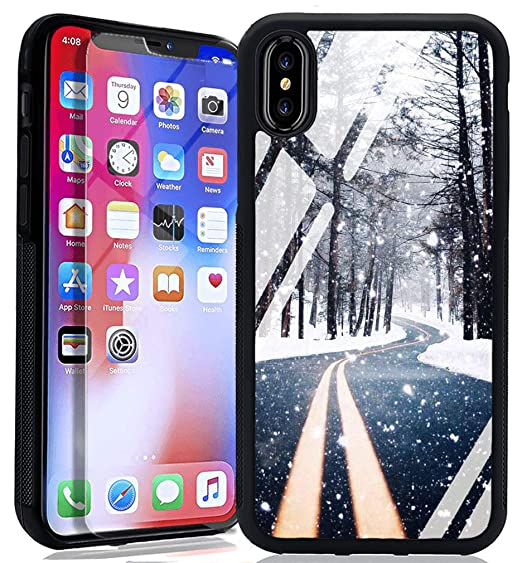Amazon Com Snow Pine Forest Iphone 6s 6 Case Tpu Hybrid