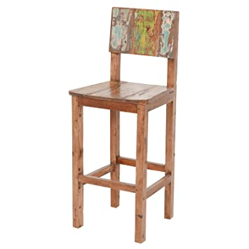 Joseph Allen Vintage Reclaimed Fishing Boat Wood bar Stool  sc 1 st  Amazon.com & Amazon.com: Joseph Allen Vintage Reclaimed Fishing Boat Wood bar ... islam-shia.org