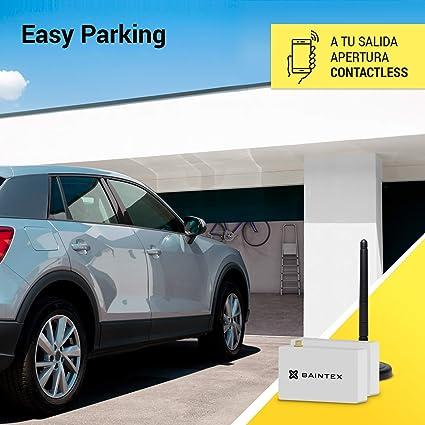 Baintex Easy Parking Apertura de la Puerta del Garaje con Móvil ...