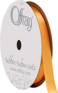 """product image for Berwick Offray 492987 3/8"""" Wide Single Face Satin Ribbon, Gold Yellow, 6 Yds"""