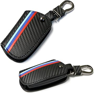 Genuine Leather Car Key FOB Holder Case Cover Wallet Bag For BMW 2 3 5 Series X3