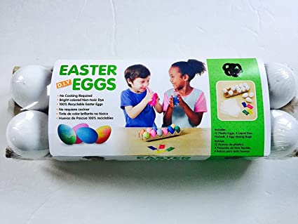DIY EASTER EGGS 12 COUNT