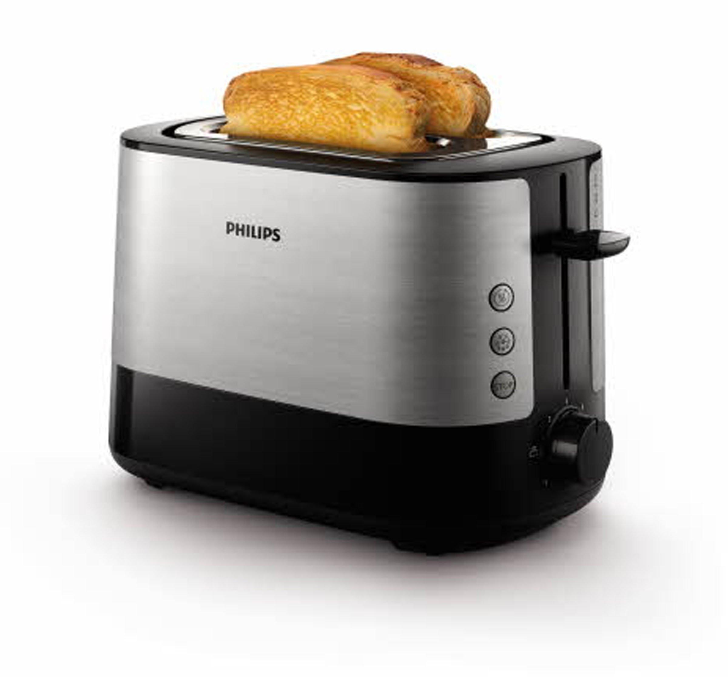 Philips HD2637/90 Grille-Pain avec Fente large Métal/noir 950 W product image