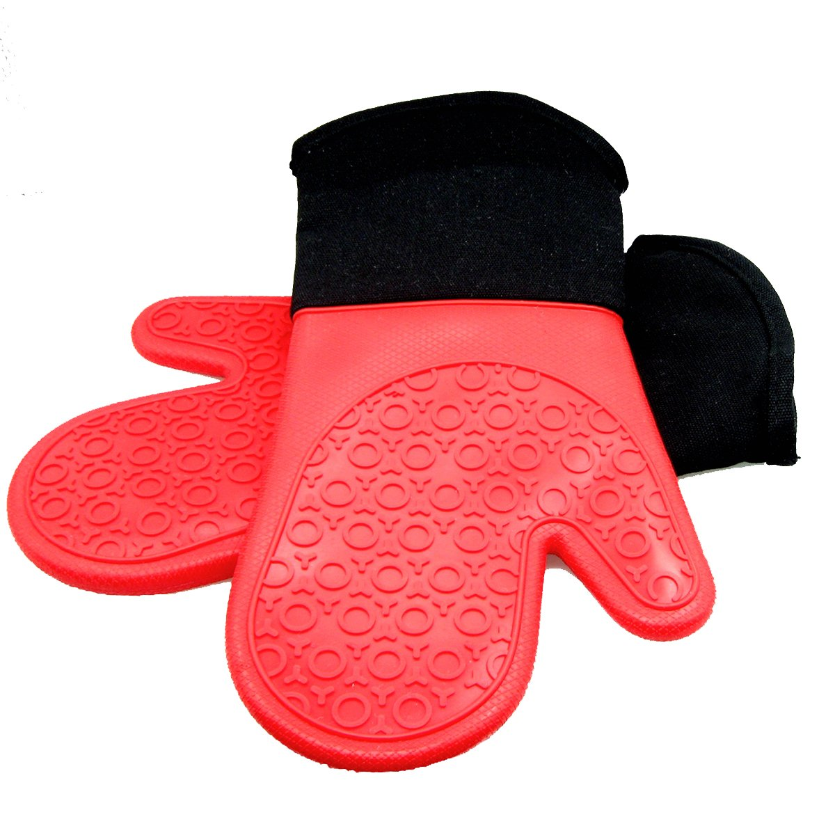 HOMWE Silicone Oven Mitts with Quilted Cotton Lining Review