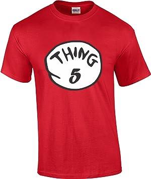 Cosa 1 Cosa 2, camisetas Nice Cute Dr Seuss – Nueva Niños Adultos Cualquier Número: Amazon.es: Deportes y aire libre