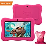 "PRESIDENT'S DAY SALE! Contixo Kid Safe 7"" HD Tablet WiFi 8 GB Bluetooth, Free Games, Kids-Place Parental Control W/ Kid-Proof Case (Pink) - Best Gift"