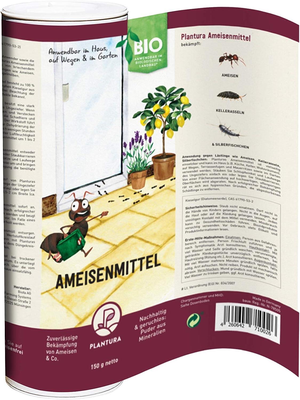 Plantura Bio-Ameisenmittel, zuverlässige Bekämpfung von Ameisen Depot