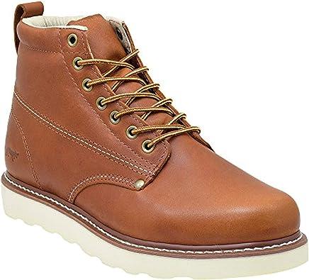 Plain Toe Work Boots Lightweight