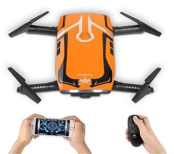 RC Quadcopter con 720P HD cámara Wi-Fi, FPV Mini Drone H818 Selfie Drone