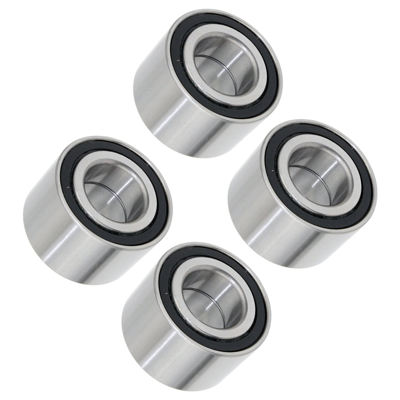 CALTRIC SET OF 4 FRONT REAR WHEEL BALL BEARINGS FIT Can-Am OUTLANDER MAX 800R 2009-2015