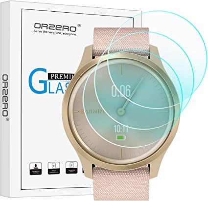 for Garmin Vivomove Style Screen Protector Poyiccot 5pack HD Clarity Flexible TPU Film Protector for Garmin Vivomove Style