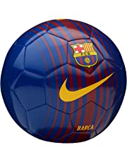 2017-2018 Barcelona Nike Skills Football (Red-Blue)
